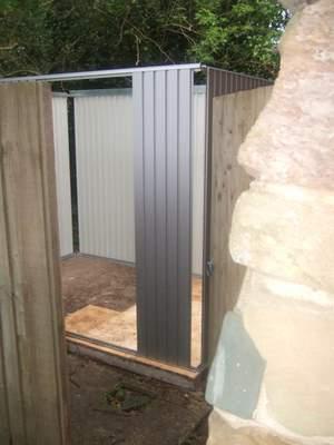 Biohort shed door