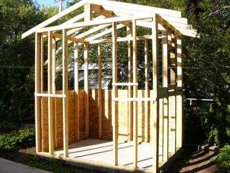 How To Build A Shed Against A House | DIY Woodworking Projects