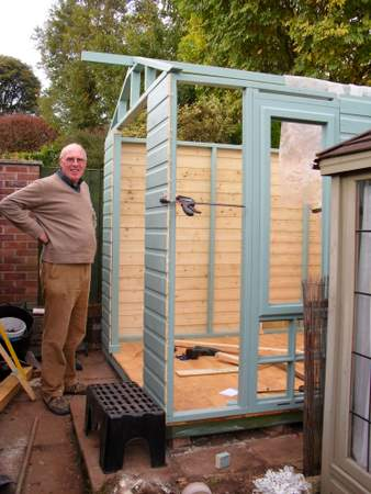 building a storage shed