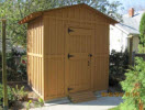 concrete block shed