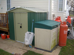 mobile home storage