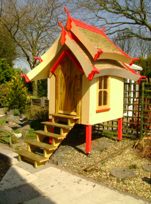 The Oriental Style Shed - A Design and Build Lesson From a ...