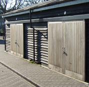 sliding shed doors