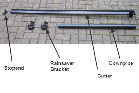 Garden Sheds Installed installing shed guttering? - here is a new option