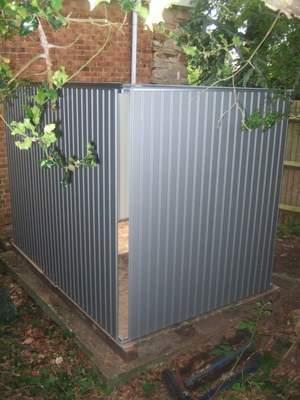 Biohort shed structure