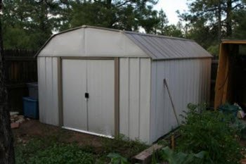 cheap metal storage shed