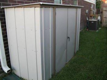 cheap metal storage shed