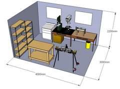 shed organizer