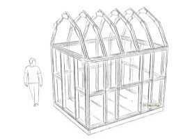 gambrel shed roof design