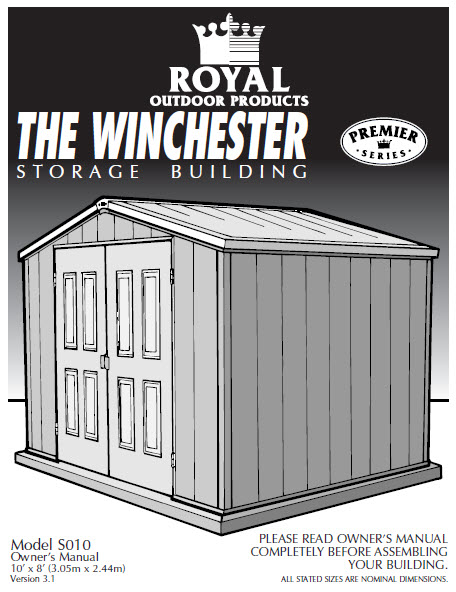 Royal Storage Shed How Do You Get Parts Now They Are No Longer Made Rh Secrets Of Building