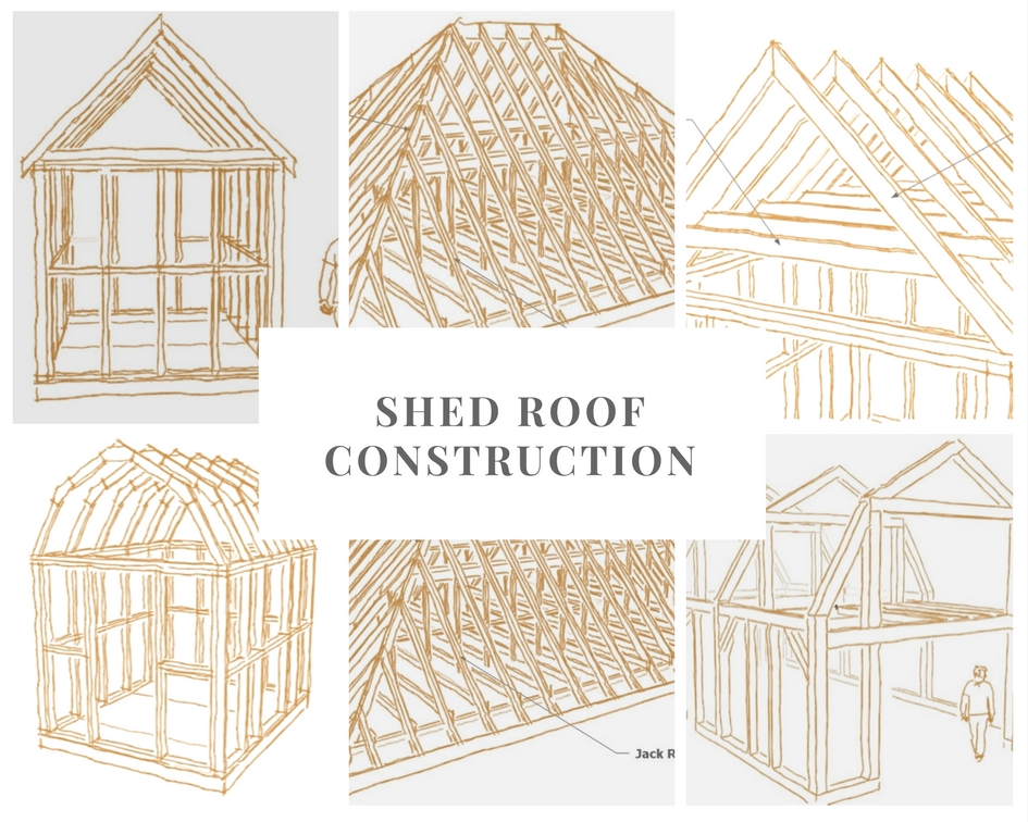 shed roof construction