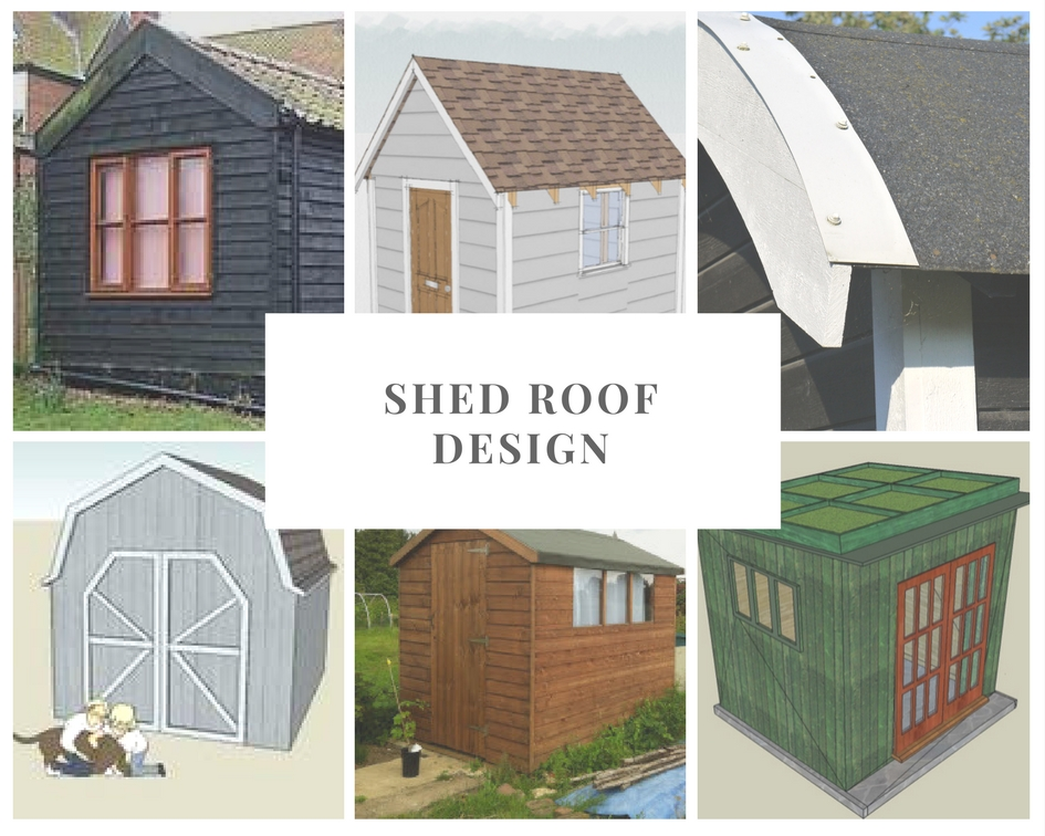 shed roof design