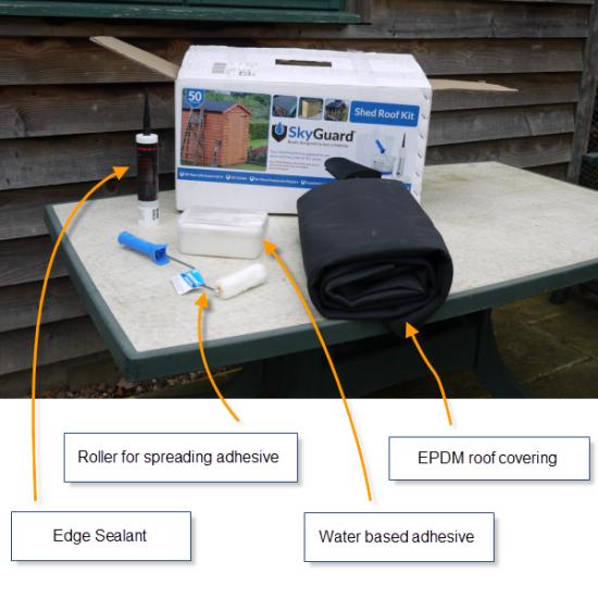 epdm roof kit