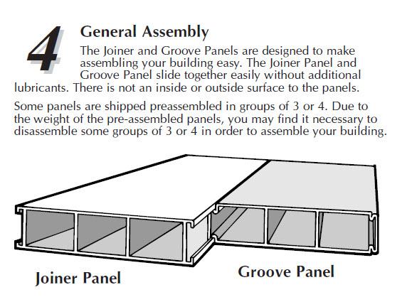 Royal shed panels