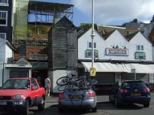 beach huts Hastings