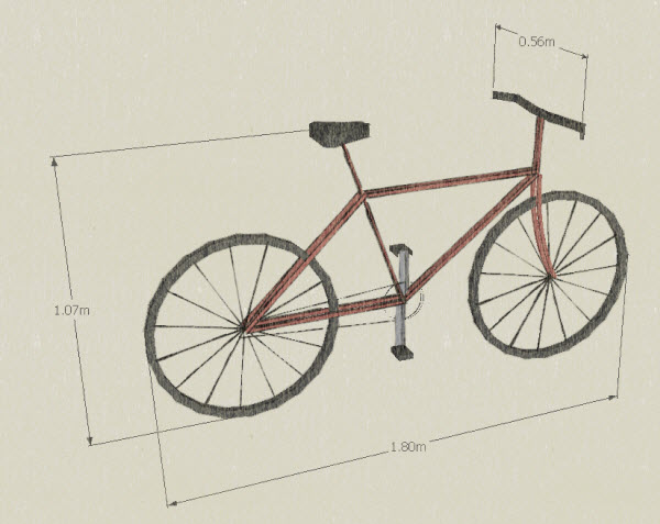 bicycle dimensions