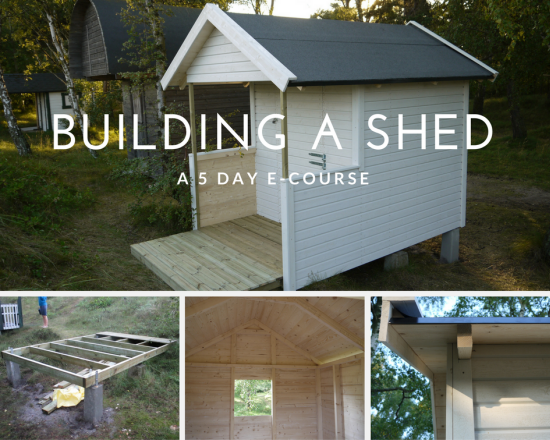 shed building course