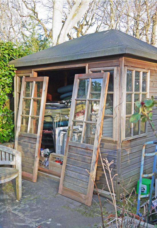 cedar shed repair
