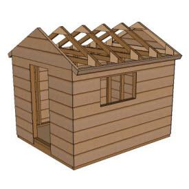 dismantling a shed