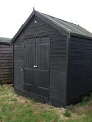double door shed