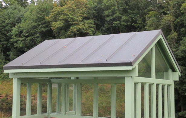 epdm rubber shed roof