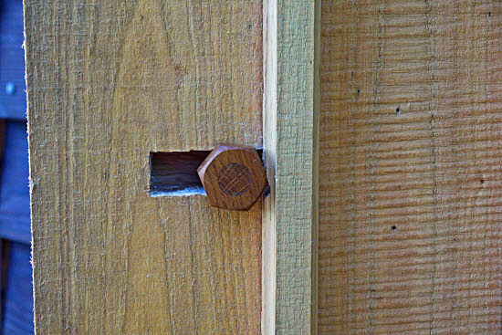 hanging a shed door