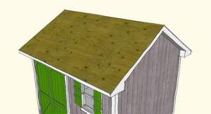 Installing Roof Shingles Is A Great Way To Make Your Shed