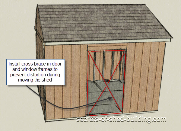 Moving A Storage Shed In Just A Few Steps