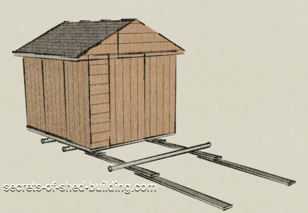 moving a storage shed