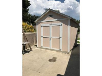 10x12 Tuff Shed on hardstanding