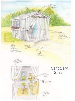 Sanctuary shed