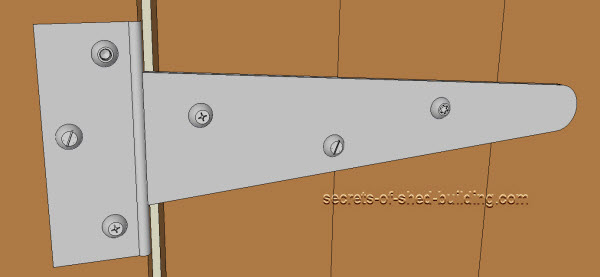 Shed door hinges the complete guide - Hinge placement on exterior door ...