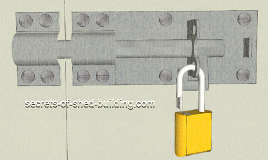 shed door locks
