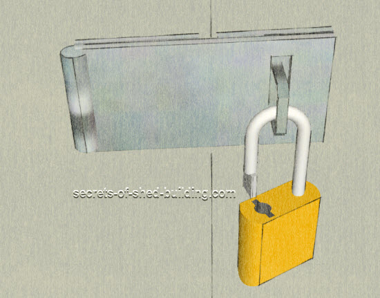 Which Type Of Shed Door Lock Will Keep Your Shed Secure