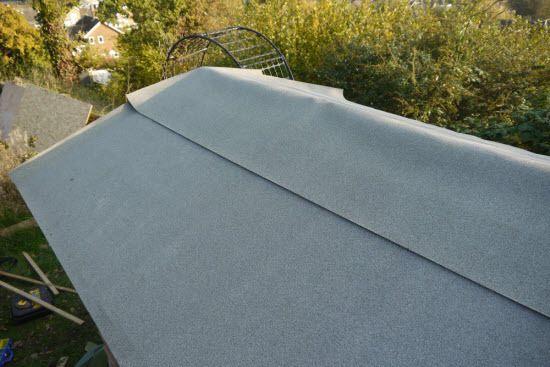 shed roof felt
