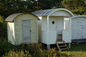 curved shed roof