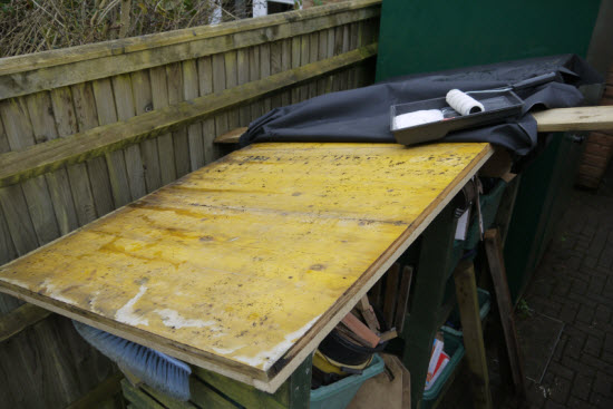 shed roof covering