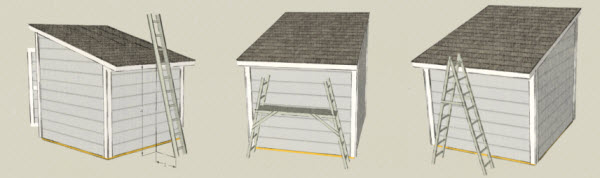shed roof safety