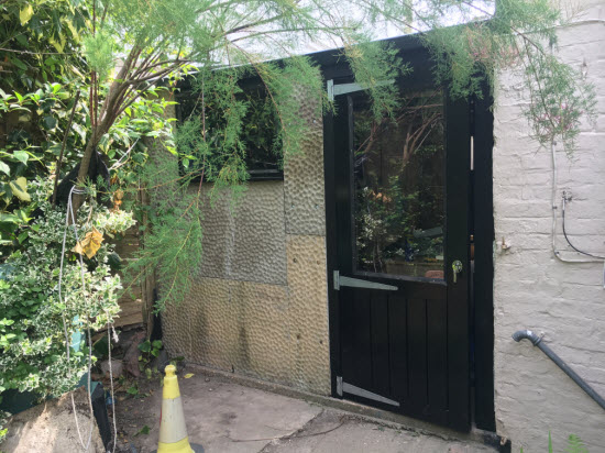 concrete sectional garage