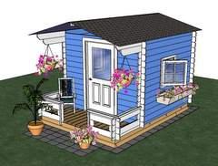 sketchup shed