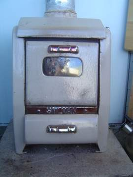 small woodburning stove
