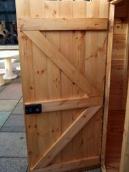 How To Make A Garden Gate Door