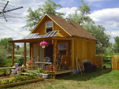 Small Cabin Off-Grid Solar