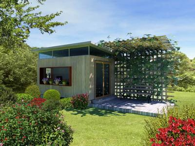 Tranquil Garden Shed