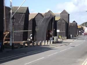 beach huts Hastings2