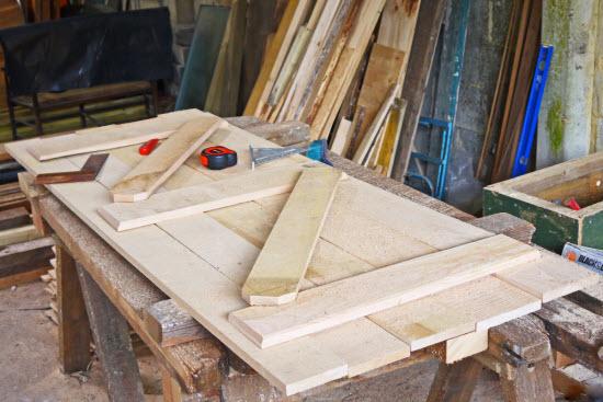 building a shed door