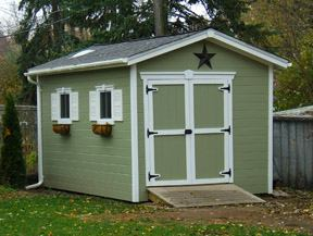 classic gable shed
