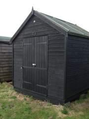 double door shed