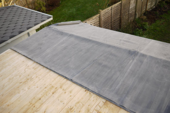 How To Install Epdm Roofing On A Shed