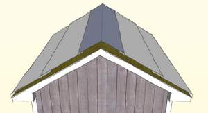 installing roof shingles